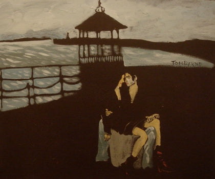 "Tom Byrne ""Lovers by the Pier"""