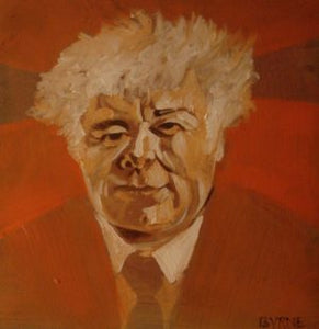 "Tom Byrne ""Seamus Heaney (red)"""