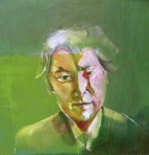 "Tom Byrne ""Seamus Heaney (green)"