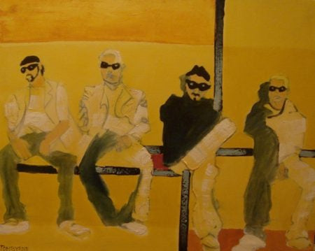 "Tom Byrne ""U2 (yellow)"""