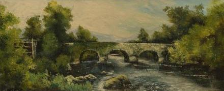 "Tom Cullen ""Bridge at Glenbeigh, Co. Kerry"