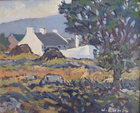 "William Ennis ""West of Ireland, Cottage Landscape"""
