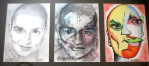 "William Mulhall ""The Faces of Sinead O'Connor"""