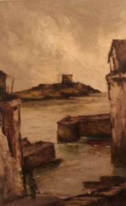 "Tom Cullen ""Coliemore Harbour, Dalkey, Co. Dublin"""
