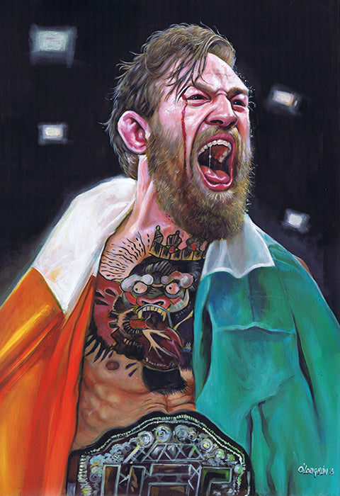 "Niall O'Loughlin ""Conor McGregor"""