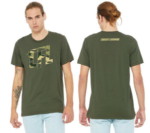 Men's Camo CFL 2.0 Logo T-Shirt