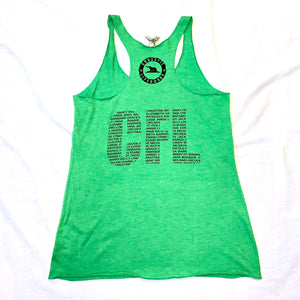 Women's CFL 1.0 Racerback Tank Top