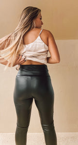 Sandy Faux Leggings