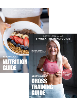 CROSS TRAINING + NUTRITION GUIDE BUNDLE