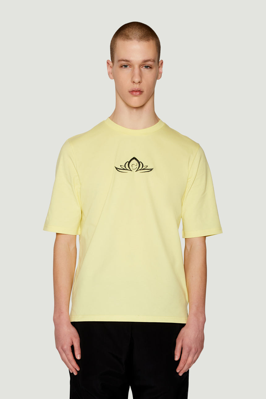 SS19 Lotus T-Shirt Yellow Black