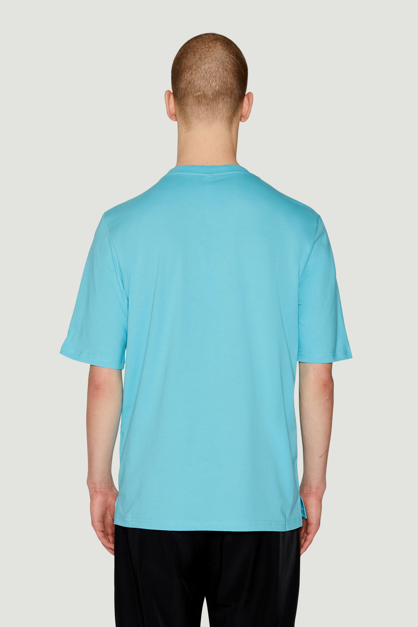 AW18 Lotus T-Shirt Blue