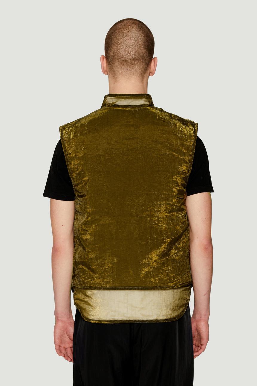 AW19 Vest Jacket Moss