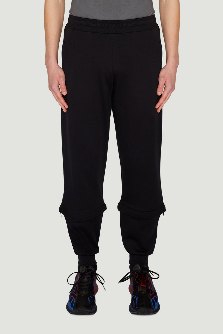 SS18 3/4 Zip Bottoms Black