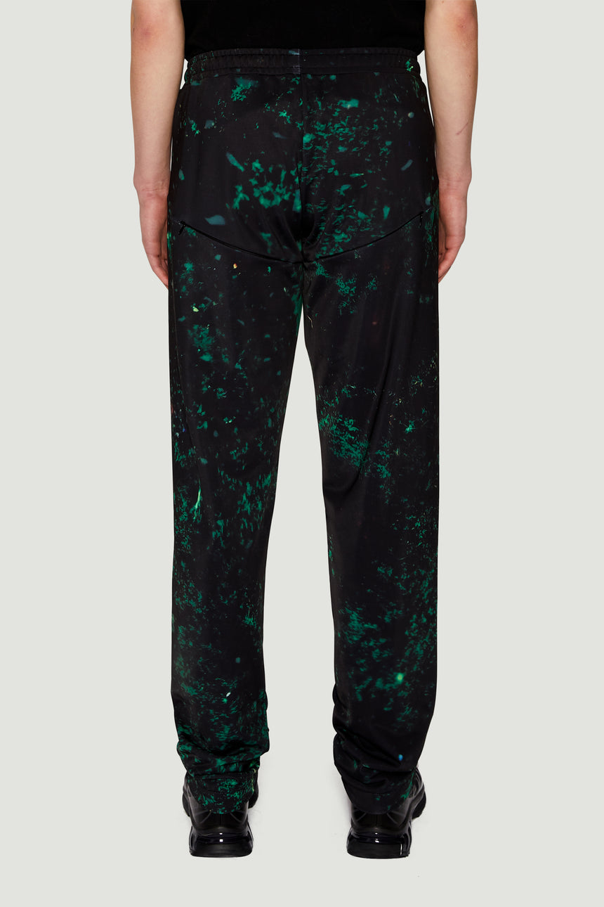 AW19 Speckled Bottoms Black Green