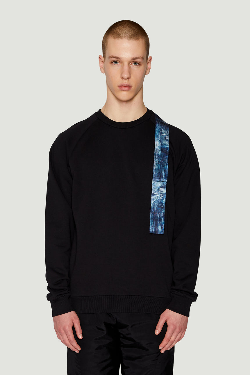 AW18 Harness Sweatshirt Black