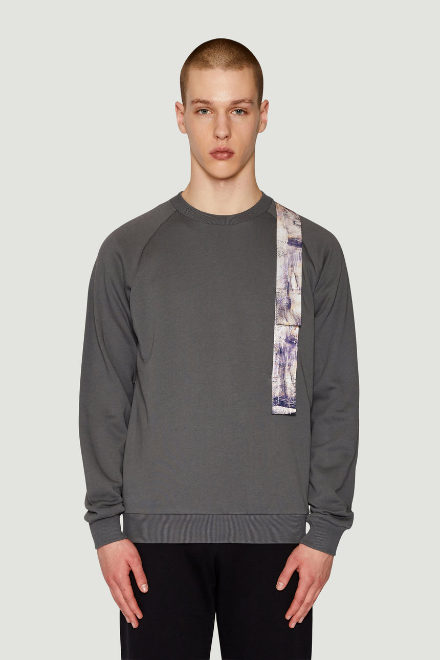 AW18 Harness Sweatshirt Grey