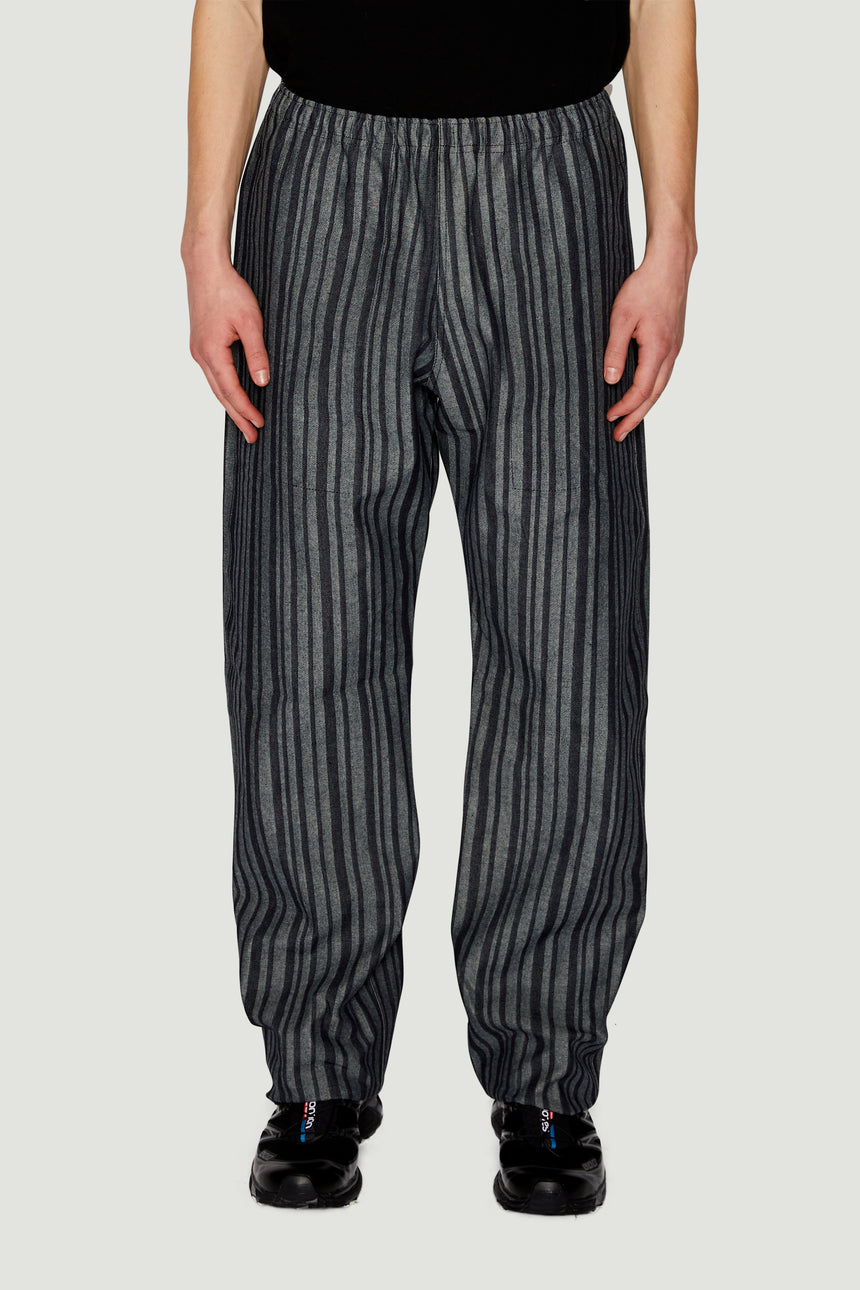 Denim Striped Joggers