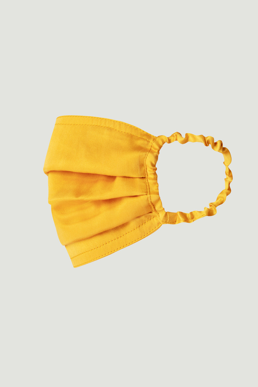SILK MASK YELLOW