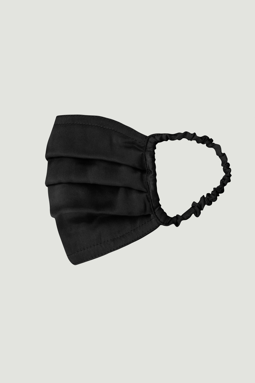 SILK MASK BLACK