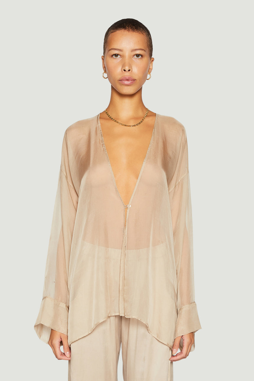 Sheer Cover Up Nude