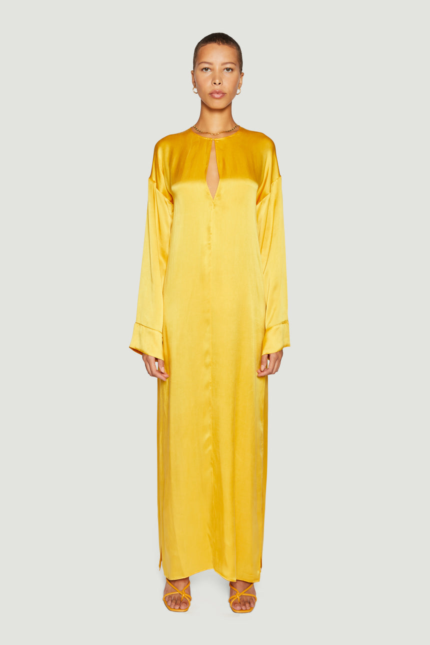 THE KAFTAN MAXI YELLOW