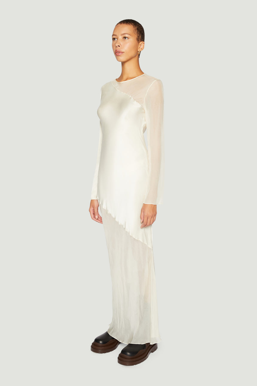 The Contrast Bias Maxi Ivory