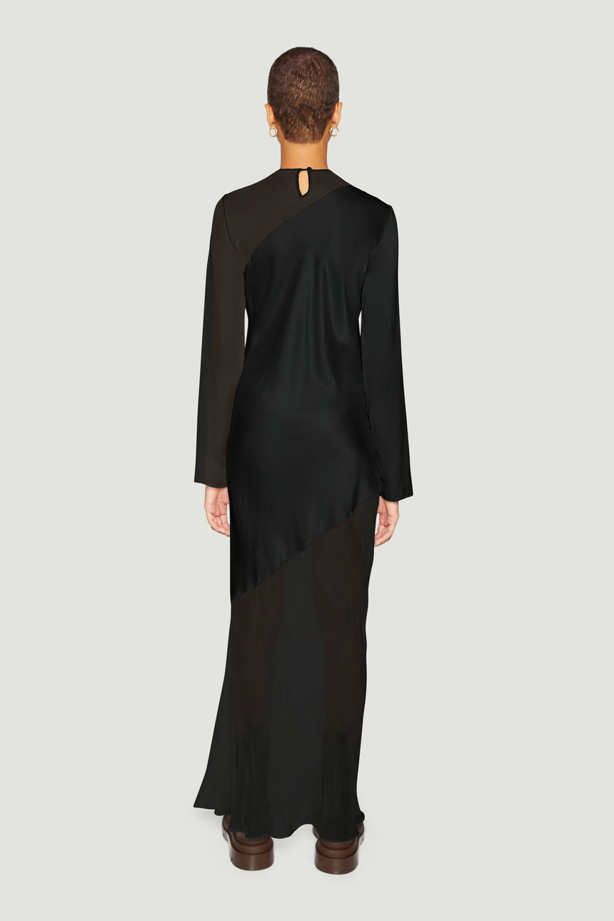 The Contrast Bias Maxi Black