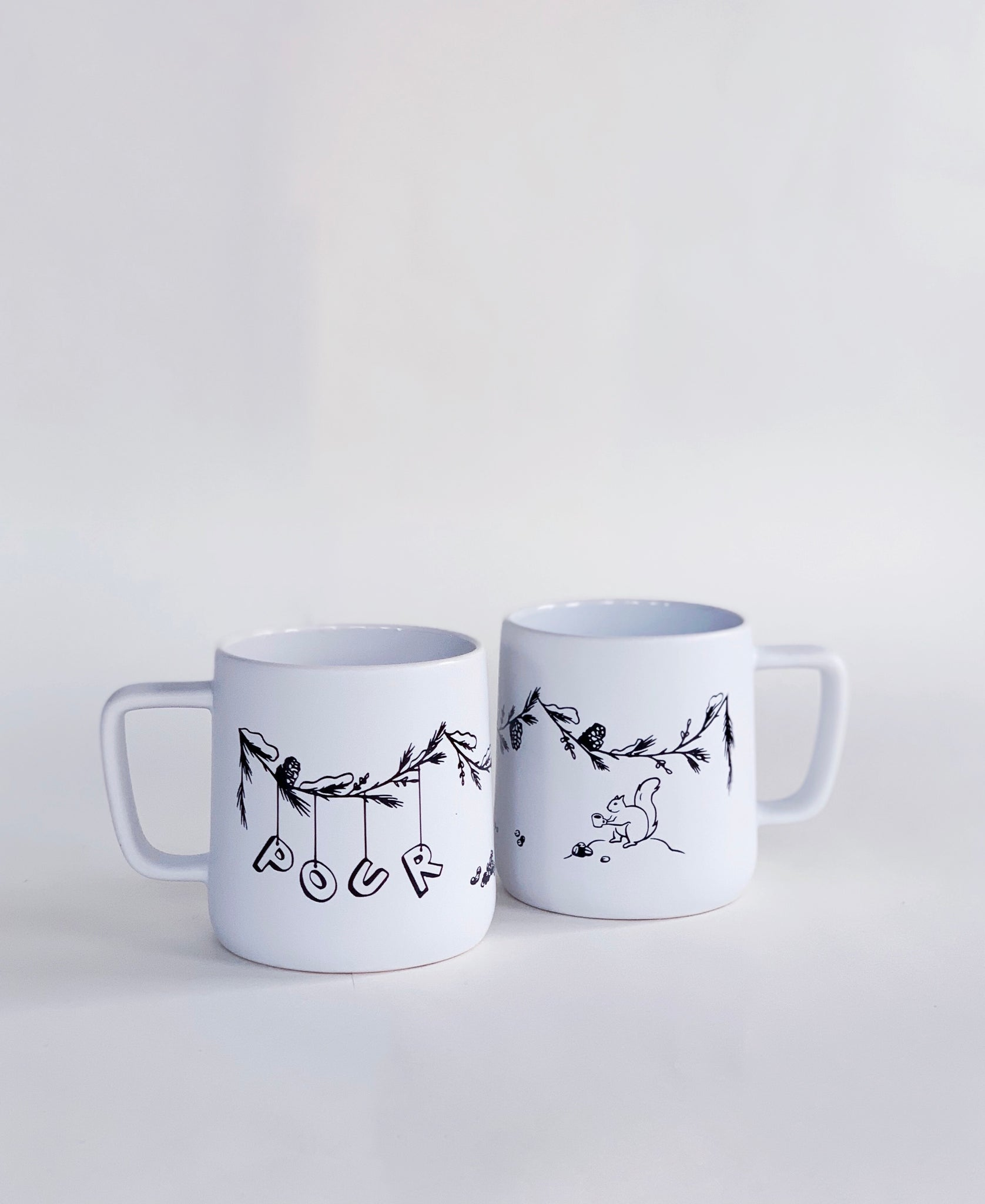 Pour Limited Edition Winter Mug