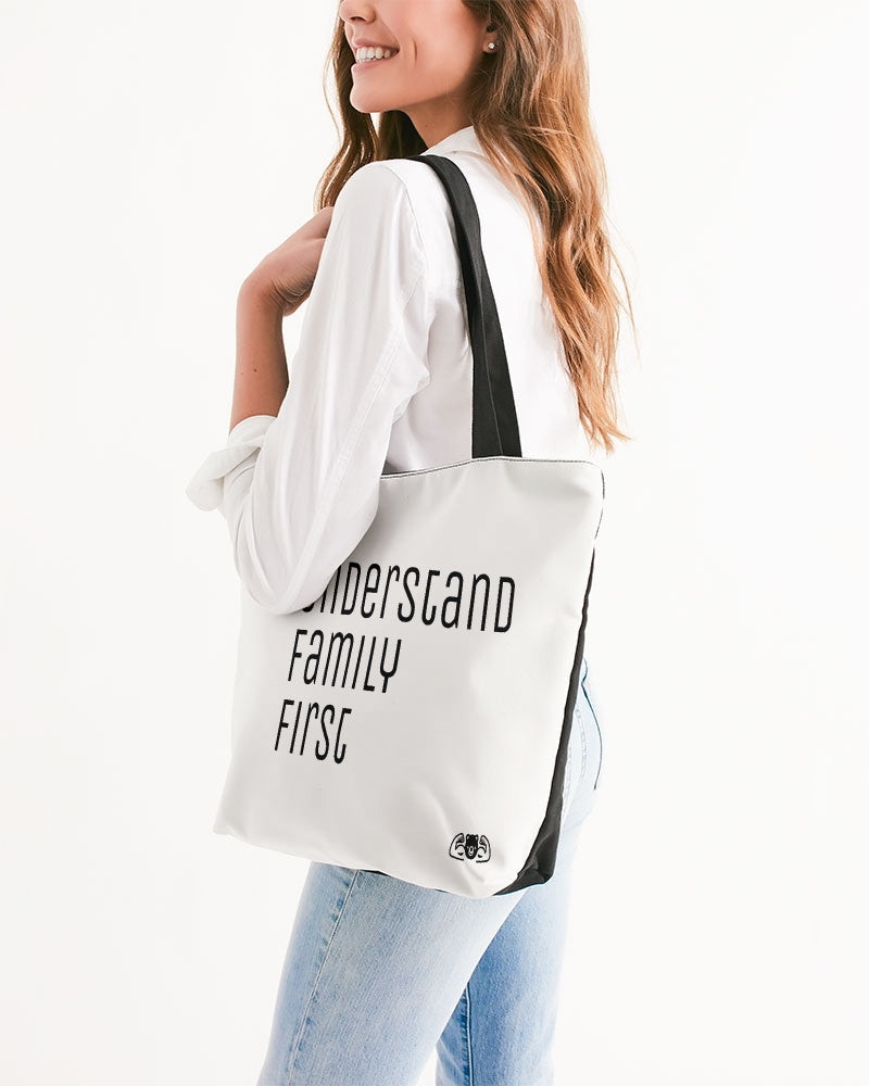 T.U.F.F Canvas Zip Tote