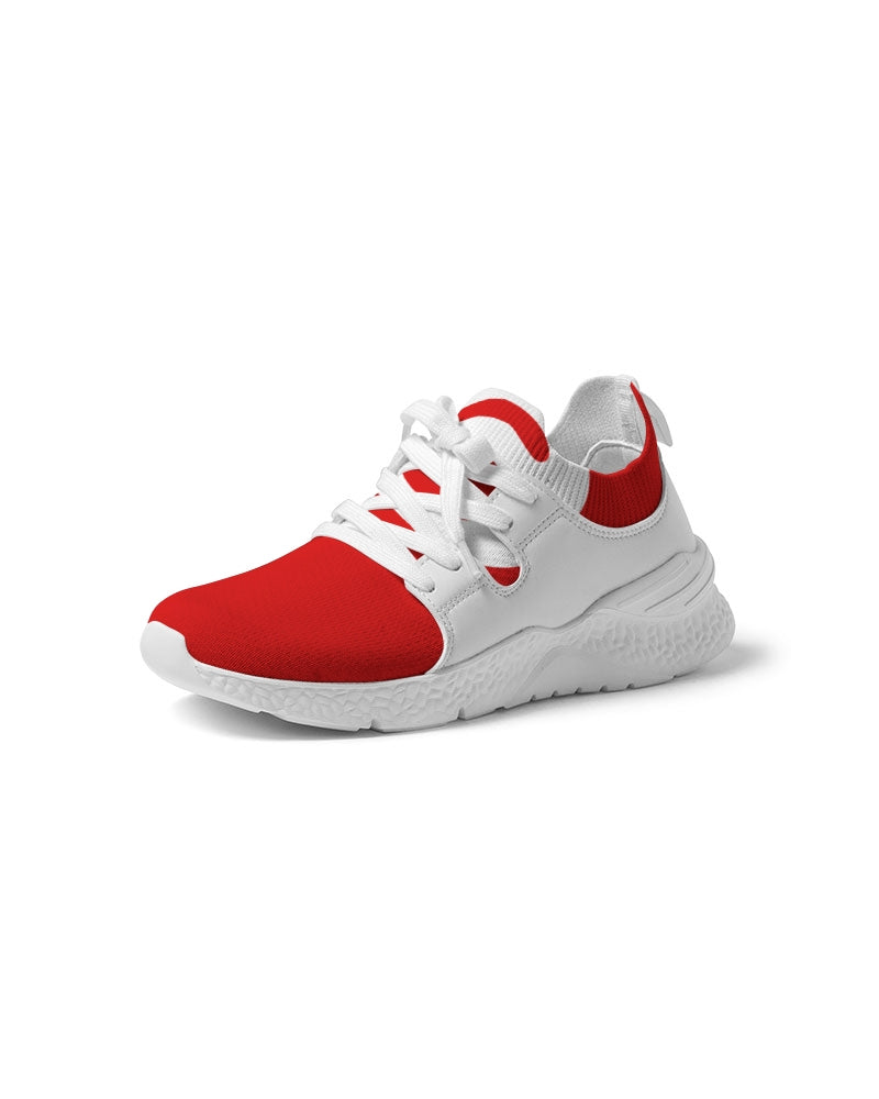 TUFF RED LINE Women's Two-Tone Sneaker