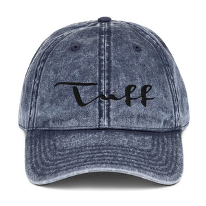 Open image in slideshow, TUFF Vintage Cotton Twill Cap