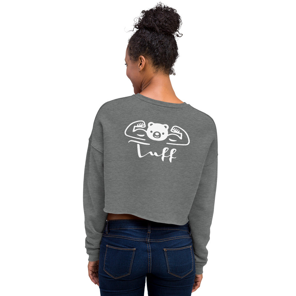 TUFF Women's Crop Sweatshirt