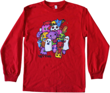 Load image into Gallery viewer, Monster Stroll graphic long sleeve shirt