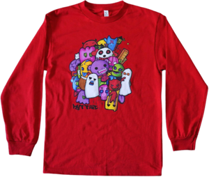 Monster Stroll graphic long sleeve shirt