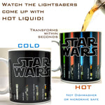Star Wars Lightsaber Heat Changing Mug - Geek Zones