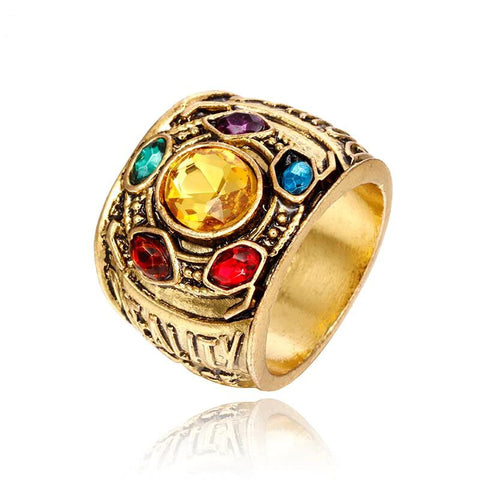 Thanos Infinity Gauntlet Ring - Geek Zones