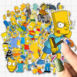 Simpson Family Stickers - Geek Zones