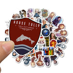 Game Thrones TV Show Stickers - Geek Zones