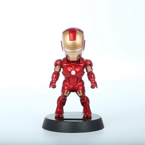 Iron Man Solar Powered Shake head - Geek Zones