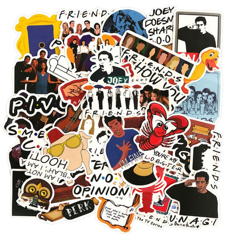 Friends TV Show Stickers - Geek Zones