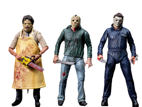 Horror Pops Action Figures - Geek Zones