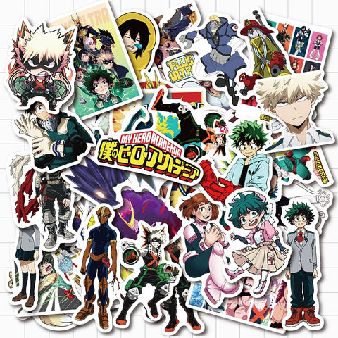 My Hero Academia Stickers - Geek Zones