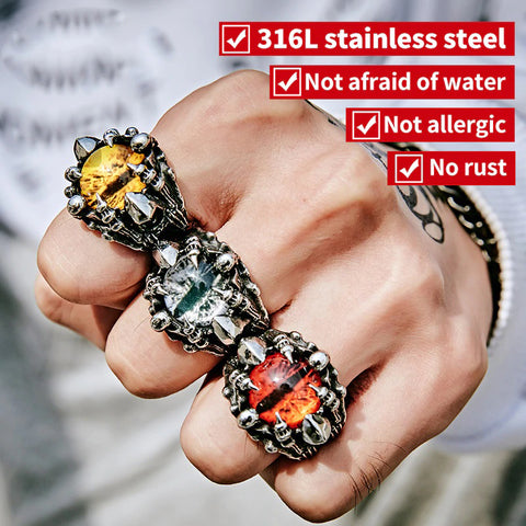 Game of Thrones Dragon Eyeball Rings - Geek Zones