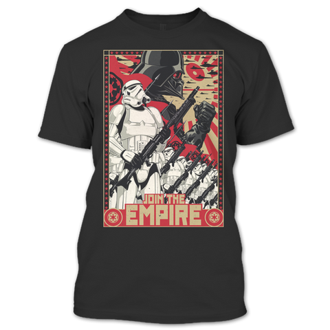 Star Wars Empire Propaganda T-Shirts - Geek Zones