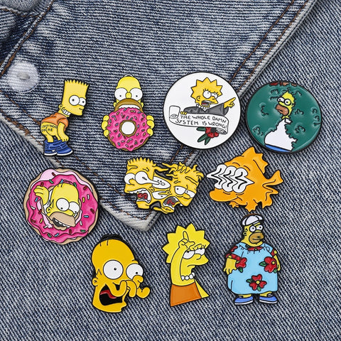 The Simpsons Enamel Pin Series - Geek Zones