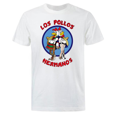 Breaking Bad Los Pollos Hermanos T- Shirt - Geek Zones