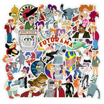 Futurama Cartoon Stickers - Geek Zones