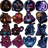 Avengers Endgame Neon Stickers - Geek Zones