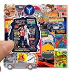 Back to The Future Stickers - Geek Zones