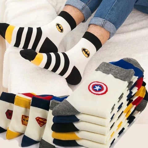 Marvel Comics Heroes Socks - Geek Zones